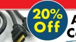 cablecables.com Offer a 20% Off on All HDMI Cable!