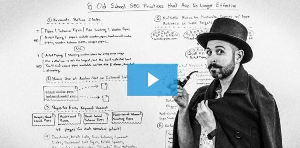 8 Old School SEO Practices That Are No Longer Effective - Whiteboard Friday